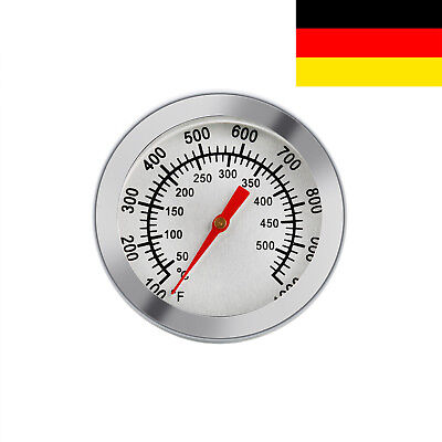 50~500℃ Thermometer Bratenthermometer Grillthermometer Edelstahl BBQ Temp Gauge