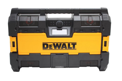 DEWALT ToughSystem Portable Bluetooth Radio/Digital Music Player Battery Charger