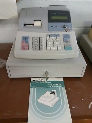Sharp Electronic Cash Register XE-A41S New
