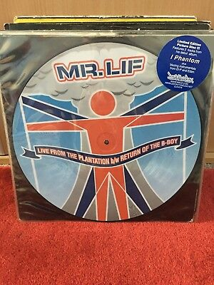 "Mr.Lif Live From The Plantation/Return Of The B-Boy 12"" picture disc"