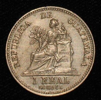 1910, 1 Real from Guatemala.  No Reserve!