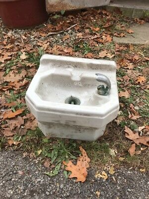 Ho Standard Drinking Fountain Porcelain 16 Inch W 14.5 Deep 10.5 H Two Available