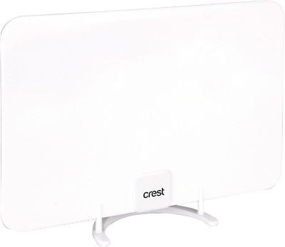 NEW Crest SGA05329 Indoor Digital TV Antenna Concealable White