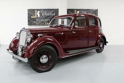 1938 ROVER 16 P2 Full Nut and Bolt Restoration, Classic in Maroon POA