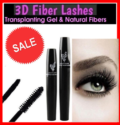 Younique 3D Lengthening Fiber Lash Mascara Black Without Box