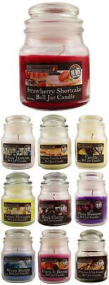 Bell Jar Scented Candle 100% Wax - 10 hrs Burn Time - Assorted - Pack of 3