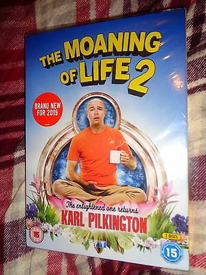 NEW SEALED DVD Karl Pilkington THE MOANING OF LIFE Series 2 Sky An Idiot Abroad