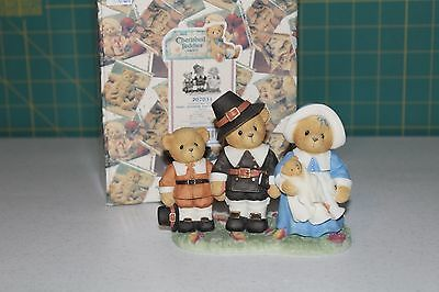 Cherished Teddies Faith Of Our Fathers Isaac Jeremiah Temperance Thanksgiving