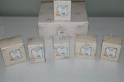 Cherished Teddies Sweetheart Ball Complete Set 7 Pieces With Backdrop