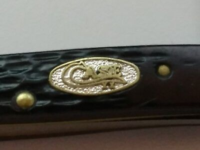 """Vintage Case XX SS with Limited Shield Pattern USA 62033 2 Blade 2-3/4"""" knife"""
