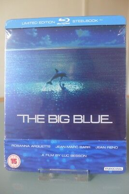 Blu ray steelbook Le Grand Bleu U.K Zavvi exclusive New & Sealed Neuf avec VF