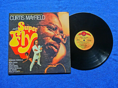 Curtis Mayfield - Superfly  M-M- Curtom Rec.- Usa - 1972