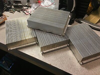 Large Aluminum Heat Sinks - x4 - 3.5 Lbs Each