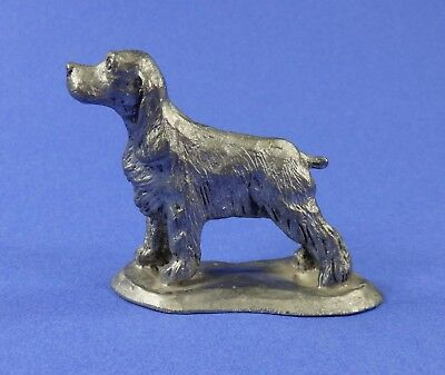 1975 Vintage Handcrafted Pewter Irish Setter Hunting Dog Spaniel M Ricker