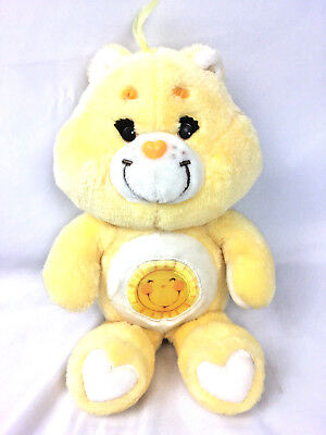 Vintage  1983 Funshine Care bear Plush Yellow Happy face vintage 1983