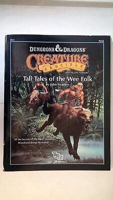 "Dungeons & Dragons Spielerhilfe ""Creature Crucible Tall Tales of the Wee Folk"""