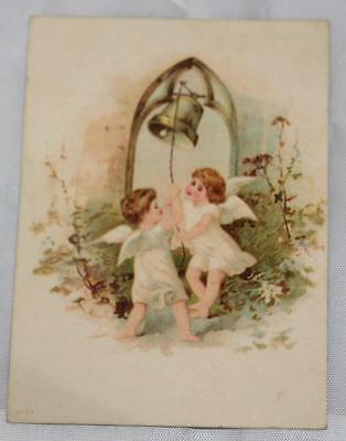 Vintage Early VIctorian 1800's Trade Card Dentist  Dental Rooms Akron Ohio