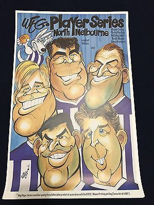 original weg posters North Melbourne wayne carey