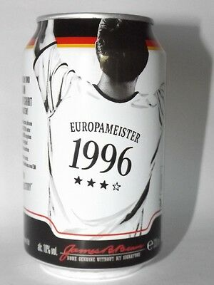 Jim Beam Cola Dose 0,33 Neu Voll Europameister 1996 limited edition