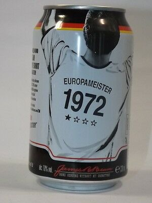 Jim Beam Cola Dose 0,33 Neu Voll Europameister 1972 limited edition