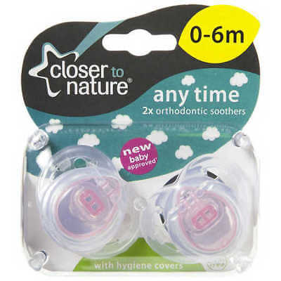 Tomeee Tippee Any Time Soother 0-6m - Assorted*