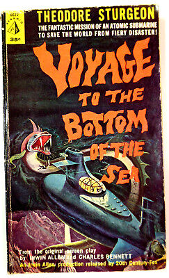 Voyage to the Bottom of the Sea by Theodore Sturgeon Pyramid 1967 Movie Tie-In