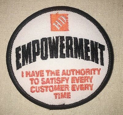 Home Depot Empowerment Patch