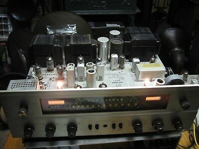 Fisher 500-C FM tube Stereo Receiver with operator and service manuals