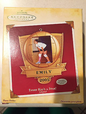 Hallmark Keepsake Ornament - Every Kid's A Star! - Volleyball - Brand New