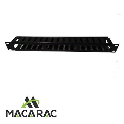 "1U HORIZONTAL CABLE MANAGEMENT- Finger duct / cover (19"" Rack-Mount Application)"