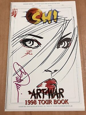 Shi: The Art Of War - Great Billy Tucci sketch on Cover!