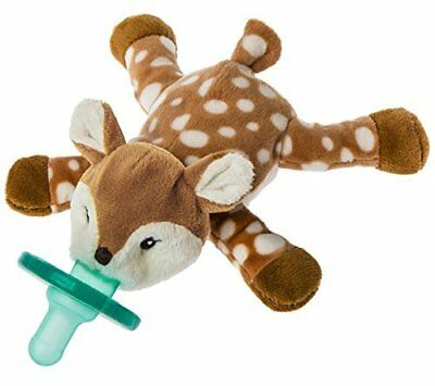 Mary Meyer WubbaNub Infant Newborn Baby Soothie Pacifier ~ Amber Fawn