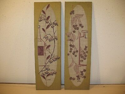 Vintage Matched Pair of Mid Century Wall Art by Peter Pepper Products