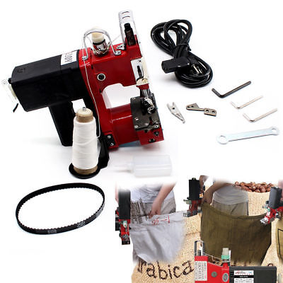 Industrial Portable Electric Bag Sewing Sealing Sack Stitching Closer Tool 110V