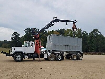 1998 Mack Truck with Prentice Loader and Dump Trailer