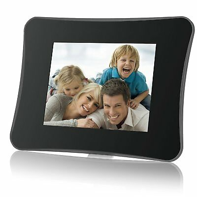 Coby DP750 7-Inch Photo Frame with Multimedia Playback Contemporary Design
