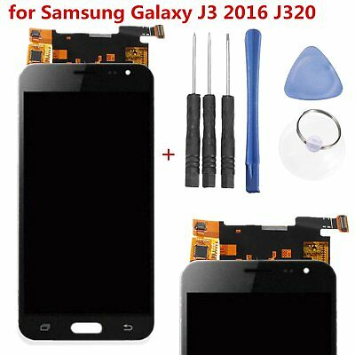 LCD Display Touch Screen Digitizer Assembly For Samsung Galaxy J3 2016 J320+Tool