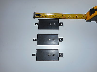 "Heavy Duty metal bracket 3"" long x1 1/2"" Wide x 1/16"" thickness with bolt holes"