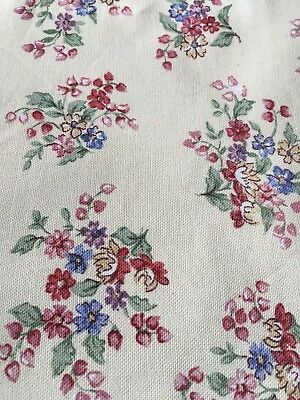 Longaberger Sweetheart Floral Fabric - 5 Yards Uncut