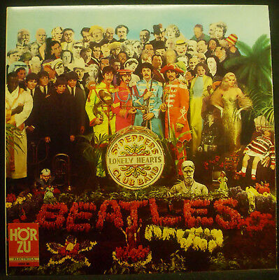 LP the Beatles - Sgt. Peppers Lonely Hearts Club Band, Hörzu , Insert, Foc, NM