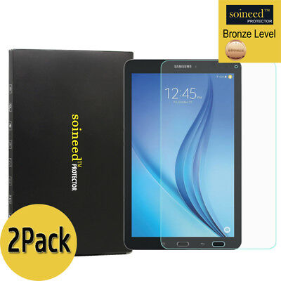 "[2-Pack] SOINEED Samsung Galaxy Tab E 8.0"" T377 Tempered Glass Screen Protector"