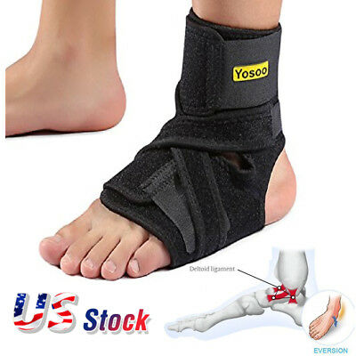 Yosoo Ankle Support Plantar Fasciitis Brace Stabilizer Orthosis Splint Recovery