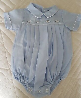 Vintage Marquise Baby Blue Romper NWT Size 00