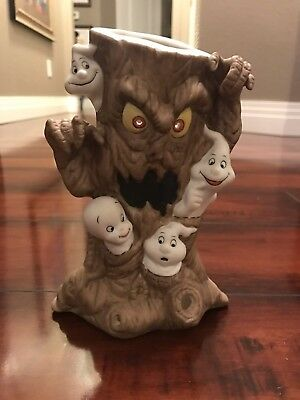 Vintage 1986 Casper The Friendly Ghost Candle Holder - Perfect!