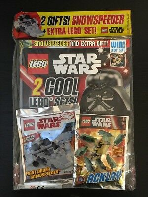 LEGO STAR WARS MAGAZINE Issue 26 August 2017 with SNOWTROOPER ...