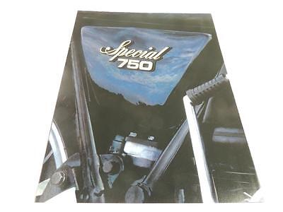 1978 Yamaha Xs750-Se 750 Special Motorcycle Brochure -Xs750-Se 750 Special