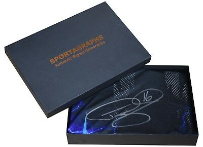 Phil 'The Power' Taylor SIGNED Shirt Autograph Gift Box Darts New AFTAL & COA