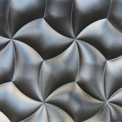 Petals Plastic Molds for 3 D Panels  Plaster wall stone Form 3D decor wall panel