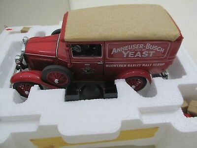 Danbury 1931 Budweiser Delivery Truck 1:24th scale die cast model