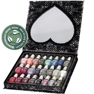 Trendy Colors Mini Nagellack Collection / Nail Polish Trendfarben 24 teilige SET